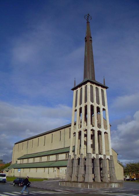 Bodö - Kirche