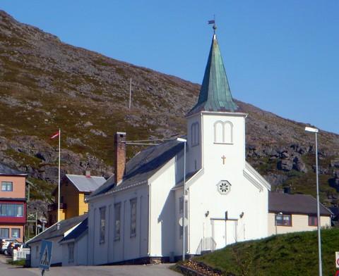 Kirche Honningsvaag