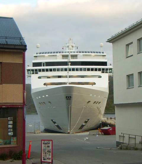 Kreuzfahrtschiff Honningsvaag