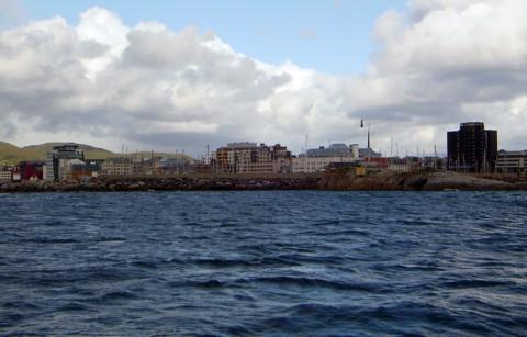 Bodø in Sicht