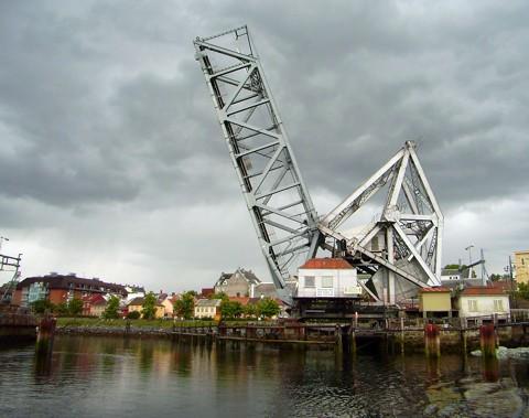 Eisenbahnbrücke Trondheim