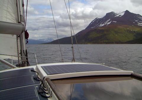 Segeln im Straumsfjord