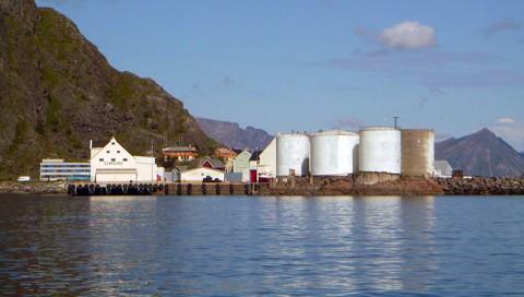 Hafeneinfahrt Stamsund