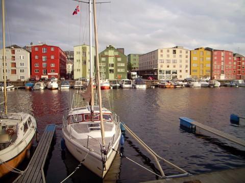 Hafen Trondheim Fosenkai