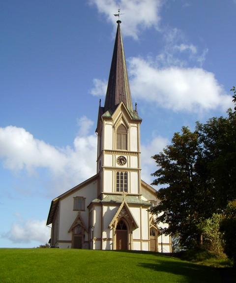 Kirche - Lillesand