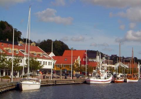 Mandal - Hafen