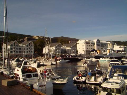Molde Hafen