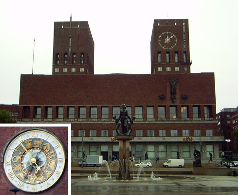 Rathaus in Oslo