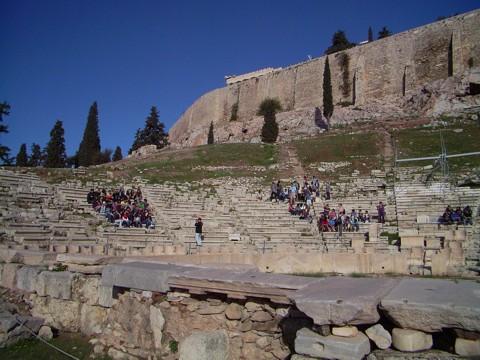 Athen Akropolis - Dionysostheater