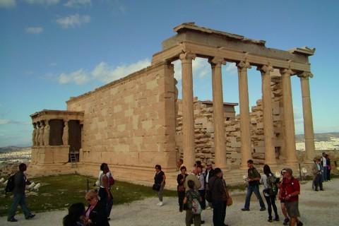 Athen Akropolis - Erechtheion