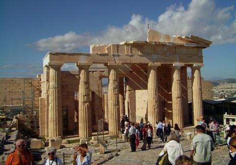 Athen Akropolis - Torbau der Propyläen