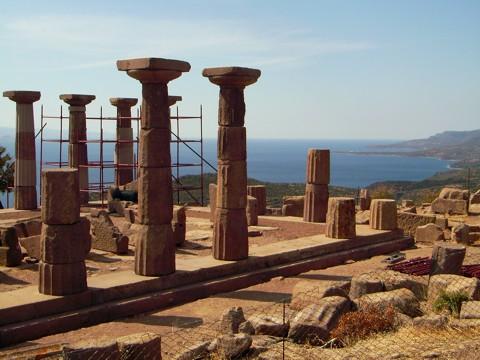 Tempel in Assos