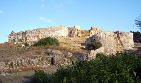 Festung in Mytilini