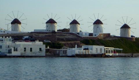 Mykonos - Windmühlen
