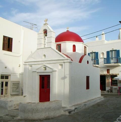Mykonos - Kirche