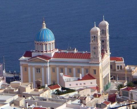 Ermoupolis - Kathedrale von St. Georgios