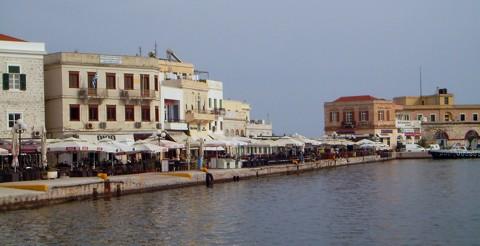 Ermoupolis - Stadthafen