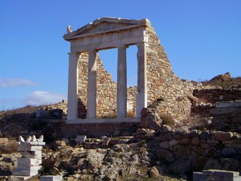 Delos - Tempel der ägyptischen Götter