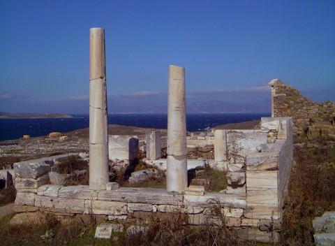 Delos - Hera Tempel