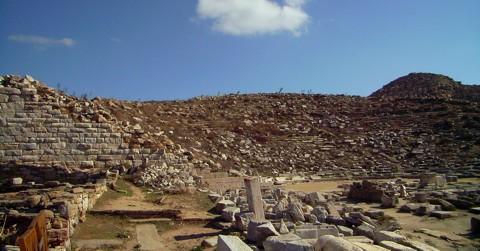 Delos Amphitheater