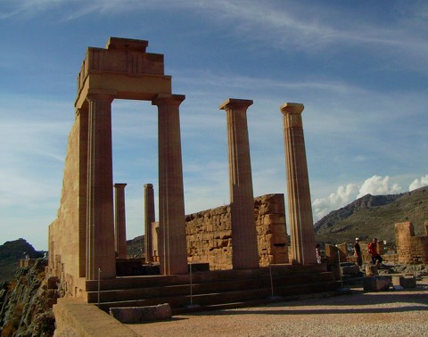Athena Lindia Tempel - Lindos
