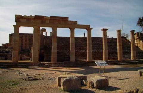 Akropolis in Lindos