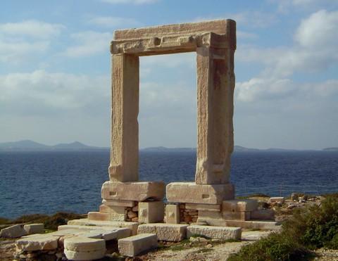 Tempeltor Naxos