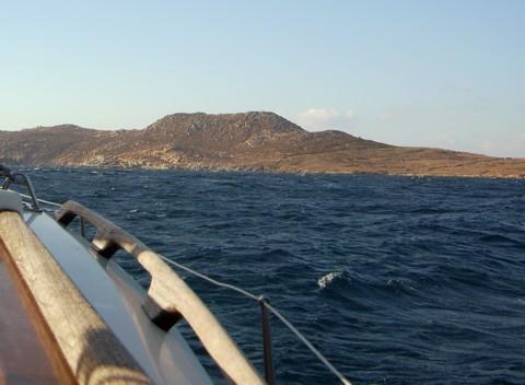 Segeln Insel Delos