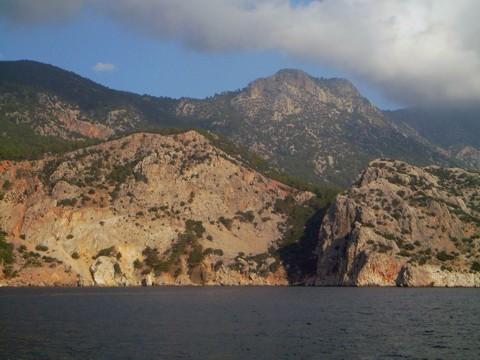 Berg am Golf von Antalya