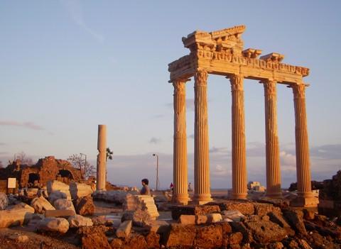 Apollon Tempel - Side