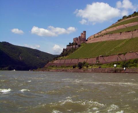 Burgruine Ehrenfels u Binger Loch