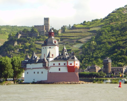 Pfalz / Burg Gutenfels