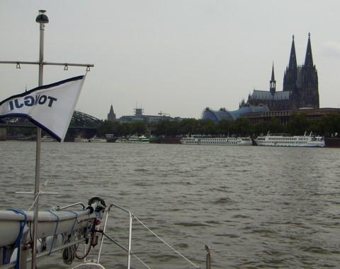 Köln auf dem Rhein erreicht
