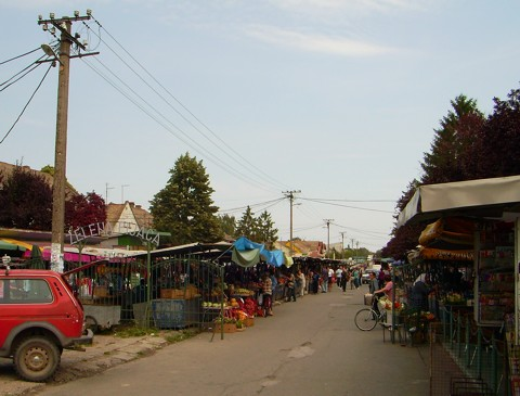 Wochenmarkt Apatin