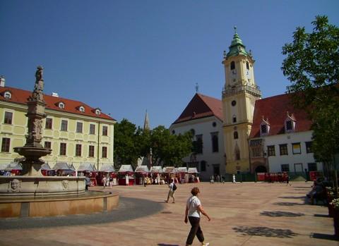 Bratislava - Markt und Altes Rathaus
