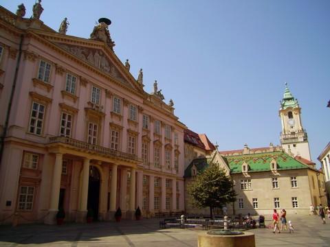 Bratislava - Primatial Palast / Altes Rathaus