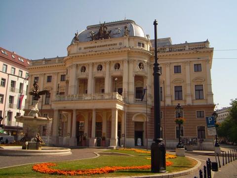 Bratislava - Slowakisches Nationaltheater