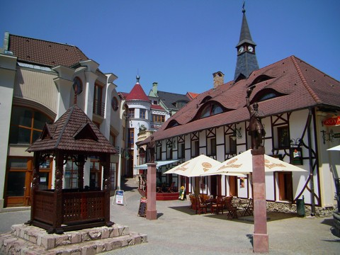 Komarno - Europaplatz