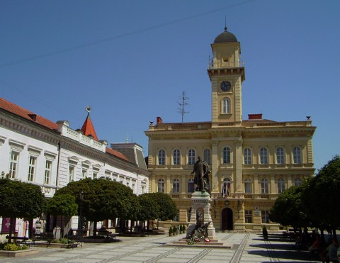 Komarno - Rathaus
