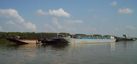 Berufsschifffahrt auf der Donau