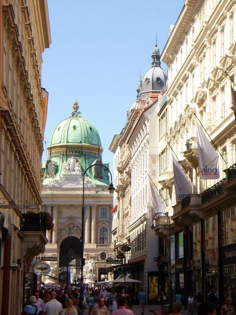 Wien - Kohlmarkt / Alte Hofburg