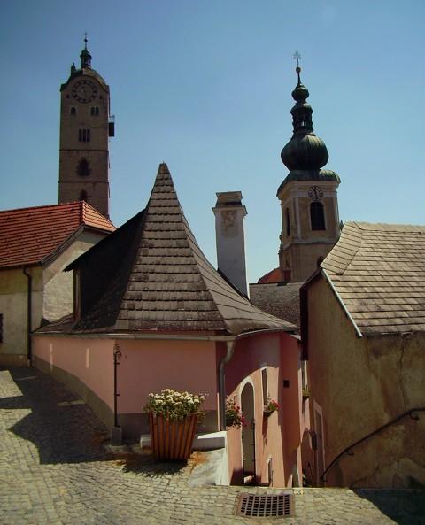 Frauenbergkirche und Steiner Pfarrkirche