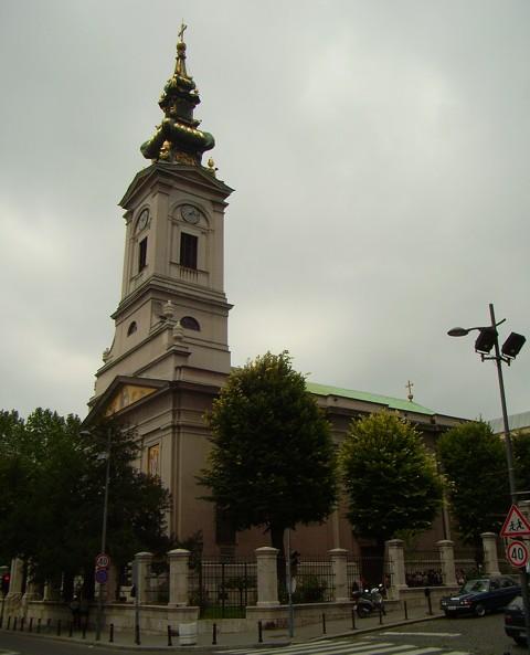 Orthodoxe Kirche - Belgrad