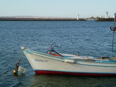 Hafen Lapseki (Dardanellen)