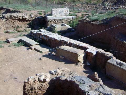 Kemer - Ausgrabungen