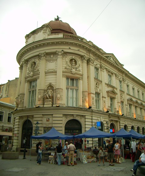 Leipziger Straße in Bukarest