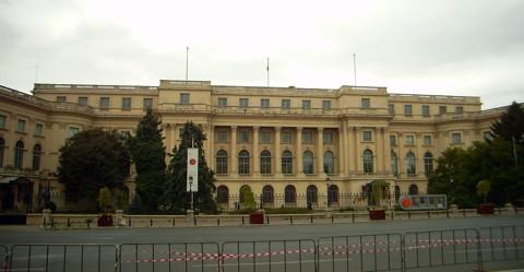 ehemaliger königlicher Palast in Bukarest
