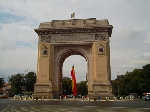 Bukarest - Triumphbogen