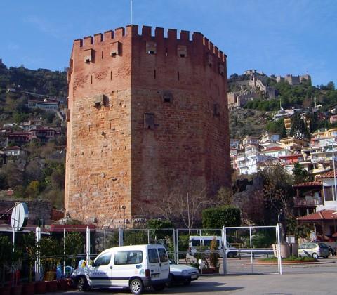 Roter Turm - Alanya