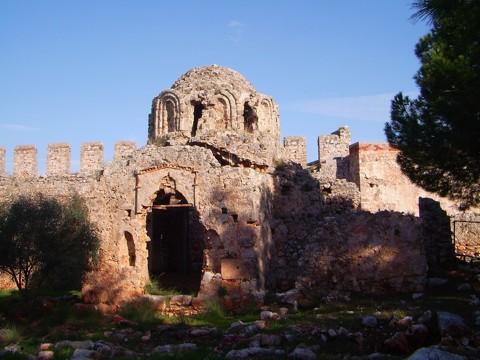 Byzantinische Kirche - Burg Alanya